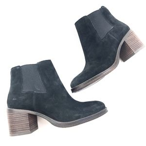 Lucky Brand | Genuine Leather Ralley Black Bootie